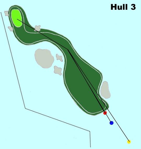 Hull 3 (Par 4, Indeks 1)