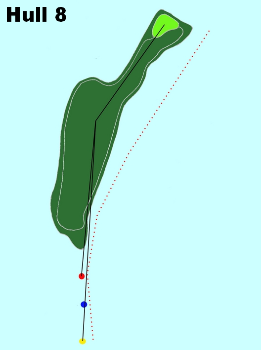Hull 8 (Par 4, Indeks 3)