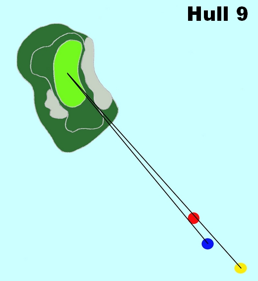 Hull 9 (Par 3, Indeks 13)