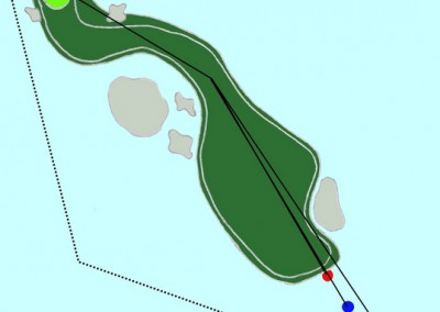 Hull 3 (Par 4, Indeks 1)